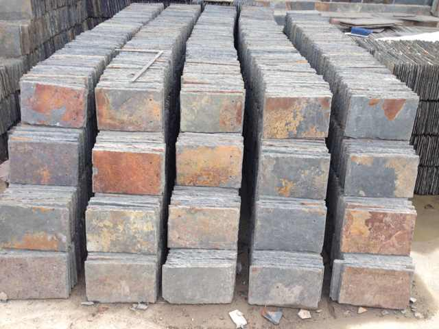 natural slate blocks