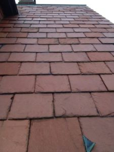 new york red slate tile