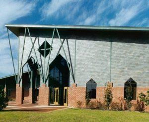 Slate Siding Church