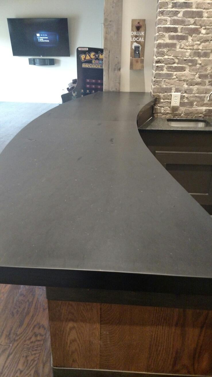 Dover Black Slate Counter Top ...
