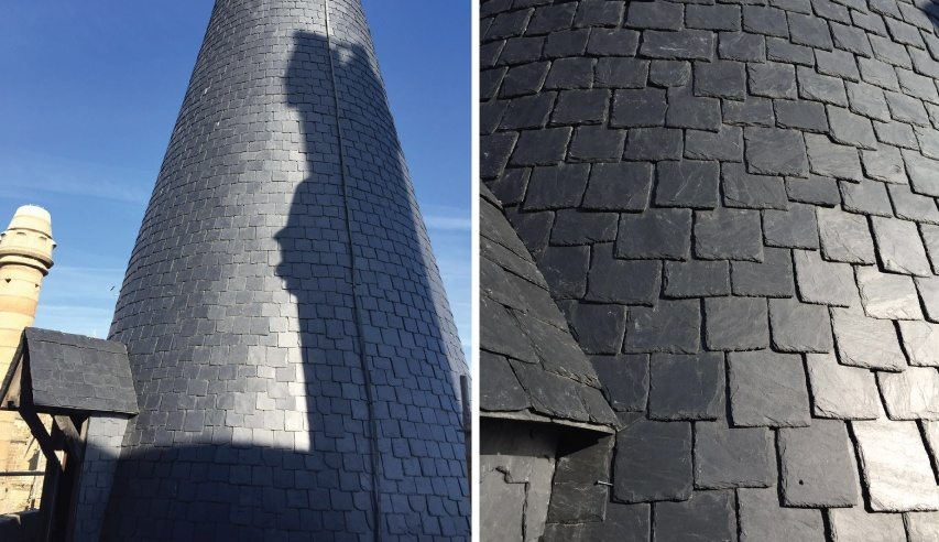 slate roofing palace