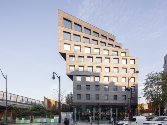 Binet Hotel in Paris exterior siding