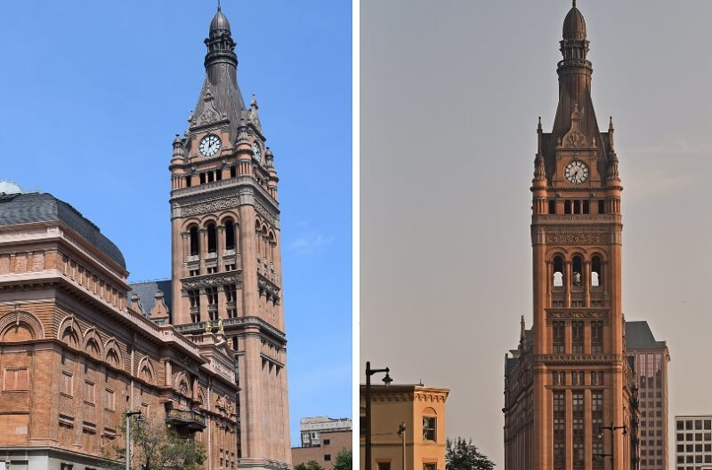 restoration of the Milwaukee City Hall