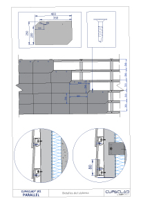 technical drawings cupaclad 101 parallel