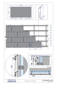 technical drawings cupaclad 201 vanguard