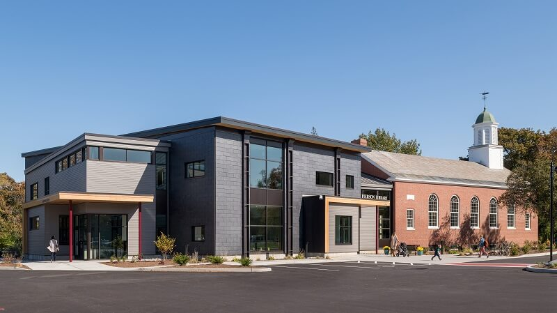 Pierson Library from Vermont Integrated Architecture
