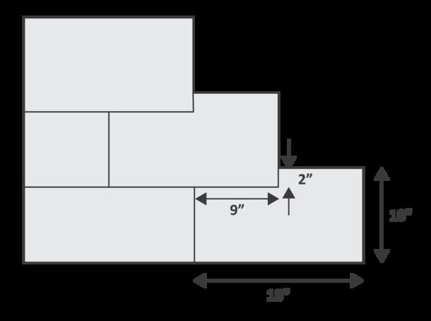 running bond pattern