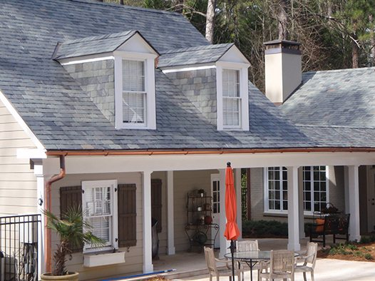 vermont rocky gray slate roof