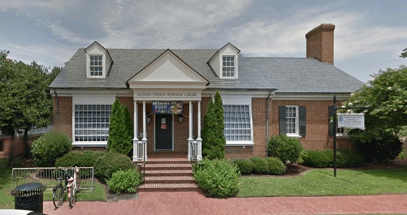 Shepard Pruden library in North Carolina